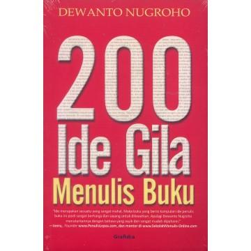 200 Ide Gila Menulis Buku