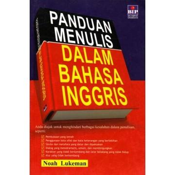 Panduan Menulis dalam Bahasa Inggris